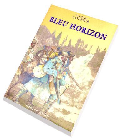 Mise en page, composition de Pierre C.J. VAISSIERE pour Bleu Horizon de Martine Alix Coppier