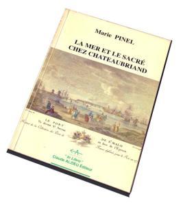 La mer et le sacré chez Chateaubriand, de Marie Blain Pinel - Misze en page Pierre C.J. VAISSIERE
