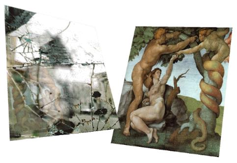 L'eden - Adam, Lilith, Eve et le miroir brisé