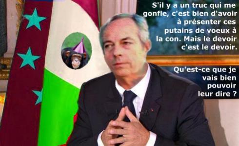Voeux officiels 2011 de Pierre C.J. Vaissiere - 1