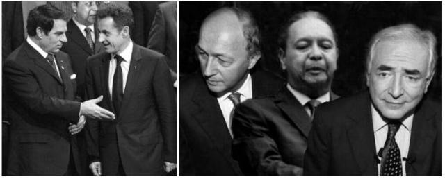 Sarkosy, Ben Ali, Bébé doc, Fabius, DSK... une simple galéjade.